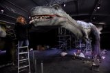 전시회를 위한 Mamenchisaurus 실내 현실적 모형 공룡