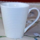 De creatieve Witte Duidelijke Mok van de Koffie van het Porselein
