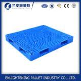 バージンのHDPE 6tonの積載量の倍の表面スタック可能プラスチックパレット