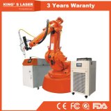 4Dレーザ溶接機械自動工業用ロボットアームCNCレーザーの溶接工