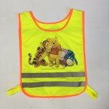 Veste da segurança de tráfego para miúdos com impressão bonita