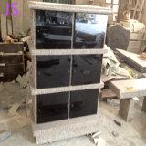 Absolute Pure niches de granit noir Columbaria en granit poli