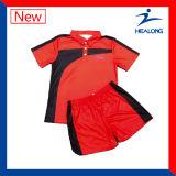 Healong 중국 제조 의복 승화 남자의 배드민턴 착용