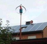 piccolo generatore verticale di energia eolica di Tubine del vento di asse di 500W 24V