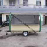 移動式広告の食糧トラック車の輸送のトラックのトレーラー