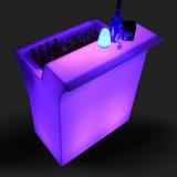 De Tuin van het LEIDENE Meubilair van het Terras dient RGB Kleur in die de Plastic Teller van de Staaf voor de Partij van de Gebeurtenis ruilen