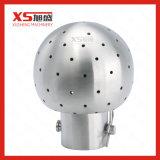 ステンレス鋼Ss304二重三クランプ回転式タンク洗浄の球
