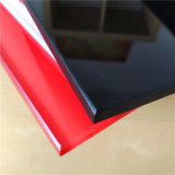 5mm schwarzes ausgeglichenes Glas für Küche-Wand