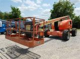 Verwendeter selbstangetriebener artikulierender Lufthochkonjunktur-Aufzug des Dieselmotor-Jlg600