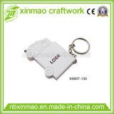 Presente plástico relativo à promoção da cintura/promoção com a fita de medição do medidor do PVC