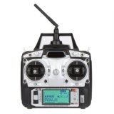 RC Multirotor Quadcopter 헬기 비행기 글라이더 차를 위한 Fs T6 2.4GHz 6CH 최빈값 2 전송기 W/Receiver R6-B