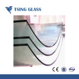 3-19mmの平らなか曲がった緩和されたガラス/強くされたガラス