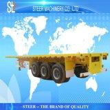 평상형 트레일러 트럭 트레일러를 수송하는 40 FT 콘테이너