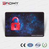 Alta segurança cartão RFID UV invisível para controle de acesso