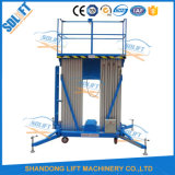 Piattaforma di lavoro di alluminio aerea mobile