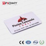 Programável de alta qualidade Cartão de PVC de RFID para controle de acesso
