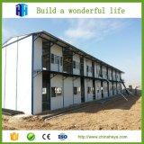 Vorfabrizierter Luxuxwohnfertigduplexhaus-Stahlaufbau