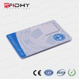 Tamanho padrão do cartão de RFID com fotografias para a gestão do pessoal