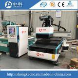 Mudança de ferramenta automática de trabalho de madeira Máquina Router CNC
