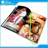 Libro su ordinazione di stampa di colore caldo di vendita quattro