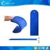 Étiquette imperméable à l'eau bon marché de blanchisserie de fréquence ultra-haute de l'IDENTIFICATION RF 125kHz