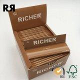 14gsm Premium blanqueado fumar cáñamo/ rodando el papel FSC. Certificado SGS
