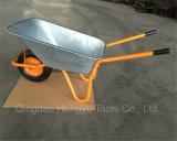 Carrinho de mão de roda da construção do jardim da amostra livre para a venda