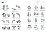 Válvula de diafragma soldada de aço inoxidável sanitário (DN15-200 e 1/2 '' - 8 '')
