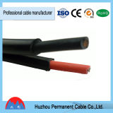 el cable de la energía solar 2*4.0mm2 para UL&TUV aprobó