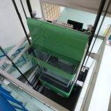 Caixa / Hotel //Edifício residencial/elevador de observação na decoração máquina de tração Villa levante com carro de madeira e vidro e aluguer de carro do Espelho