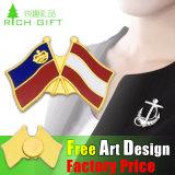 高品質のロゴのデザインによってカスタマイズされる全体的なフラグのバッジ