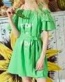 Dame-Schultergurte schließen Kleid kurz
