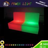 Modernes Glühen-Sofa der Freizeit-Möbel-LED