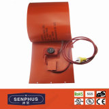 Calefator do cilindro do silicone do UL