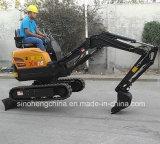 Mini tonelada hidráulica Xn16 da máquina escavadora 1.6 da trilha