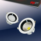 LED-beleuchten Aluminium-PFEILER Deckenleuchte unten