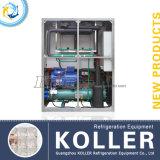 2 Tonnen Eis-Würfel-Maschinen-mit halbautomatischem Verpackungs-System (CV2000)