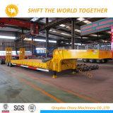 Hochleistungs60 Tonnen-hydraulischer abnehmbarer Gans-Stutzen Lowbed Schlussteil