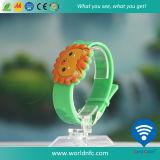 カスタムLogo 13.56MHz Waterproof Ntag213 RFID Silicone Wristband