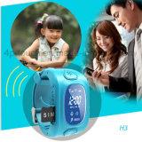 Vigilanza portatile dell'inseguitore di GPS astuto del bambino/capretti di Multifunctions con il pedometro H3