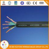 450/750V het op zwaar werk berekende Rubber isoleerde Flexibele Kabel h07rn-F h05rn-F h05rr-F met Ce- Certificaat