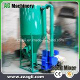 Draagbare het Mengen zich van het Voer van het Varken van de Kip van het Vee van de Mixer van het Dierlijke Voedsel Machine