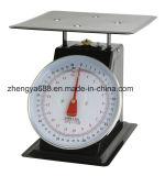 Bilancia meccanica inossidabile piana della molla di piatto di chilogrammo