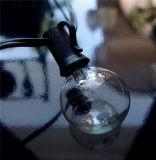La UL enumeró los 8m 25 la Navidad al aire libre de la luz LED de la decoración de la Navidad del globo claro del bulbo G40
