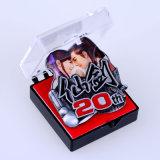Jiaboはオフセット印刷され、ボックスによって詰められたメタルピンを作った