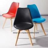 Empilhamento coloridos moderno Cadeira de jantar de plástico para mobiliário de sala de jantar