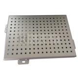 Especiales paneles de aluminio perforado de materiales de construcción