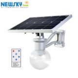 Cer RoHS Solar8w 12W LED Garten-Lampe