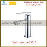 Loiça sanitária de banho de cromo Misturador de água da bacia hidrográfica
