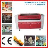 Máquina de gravura acrílica/plástica/de madeira do laser do CO2 da placa de /PVC para o metalóide Pedk-160100